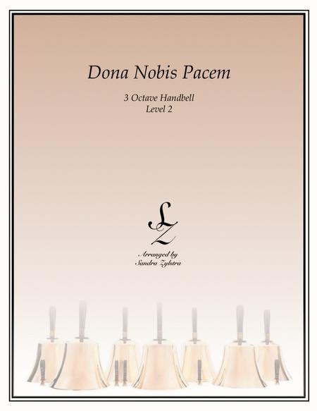 Dona Nobis Pacem (3 octave handbells)