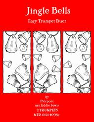 Jingle Bells for Beginner Trumpet Duet