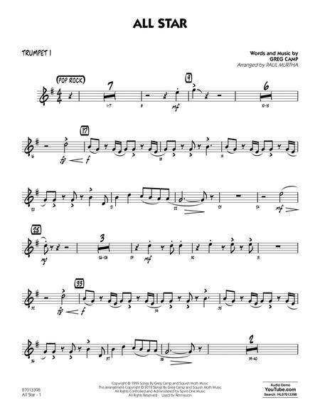 All Star (arr. Paul Murtha) - Trumpet 1