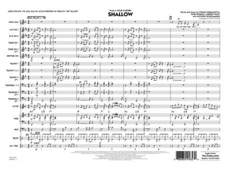 Shallow (from A Star Is Born) (arr. Rick Stitzel) - Conductor Score (Full Score)