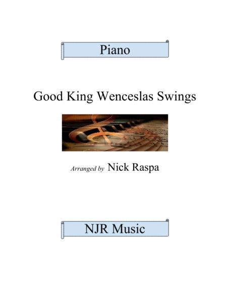 Good King Wenceslas Swings (advanced intermediate piano)