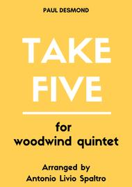 Take Five for Woodwind Quintet