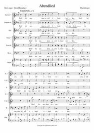 Abendlied - Rheinberger