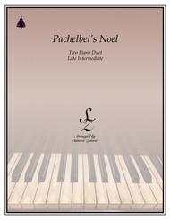 Pachelbel's Noel (two piano duet)