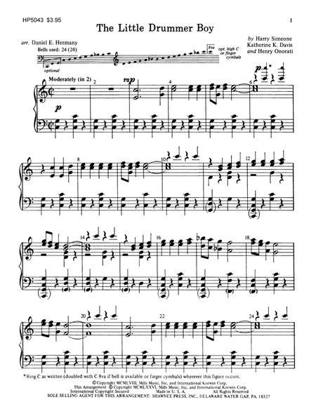 The Little Drummer Boy (arr. Daniel Hermany) - Handbells