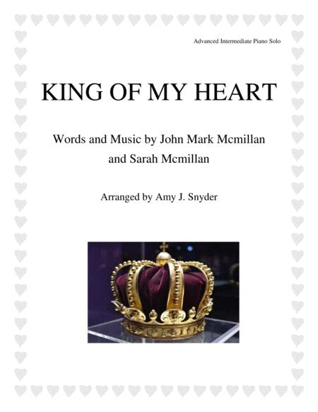 King Of My Heart, piano solo