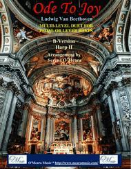 Ode to Joy, B Version Harp II