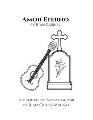 Amor Eterno (Guitar/Voice)