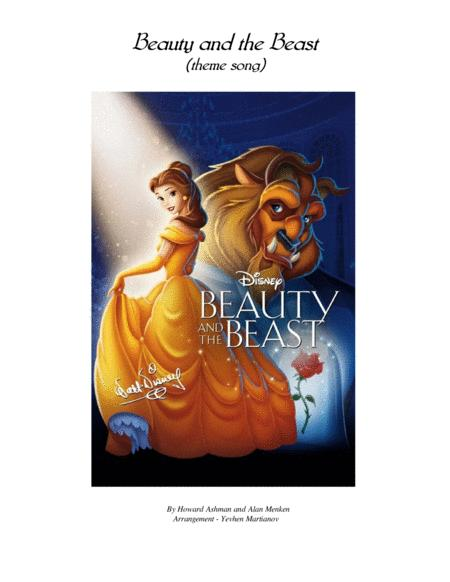 Beauty And The Beast Theme Song By By Digital Sheet Music For Score Download Print H0 612597 Sc001159167 Sheet Music Plus