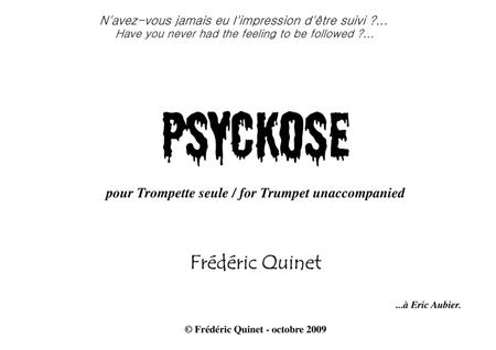 Psyckose for trumpet unaccompanied