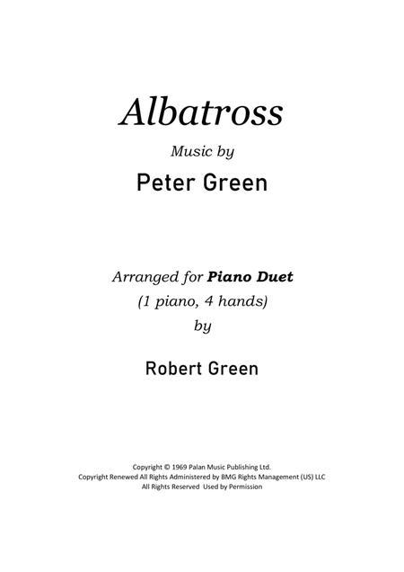 Albatross - piano duet (4 hands, 1 piano)