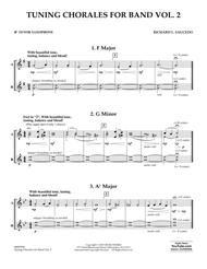 Tuning Chorales for Band, Volume 2 - Bb Tenor Saxophone