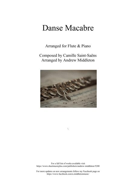 Danse Macabre arranged for Flute & Piano