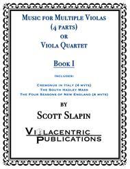 Music for Multiple Violas or Viola Quartet (Book 1)