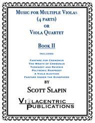 Music for Multiple Violas or Viola Quartet (Book 2)