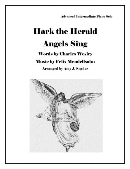 Hark the Herald Angels Sing, piano solo