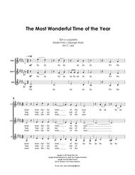 The Most Wonderful Time Of The Year - SSA a cappella trio