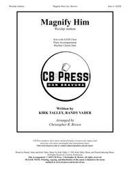 Magnify Him (Talley) - Piano Accompaniment & Rhythm Chart