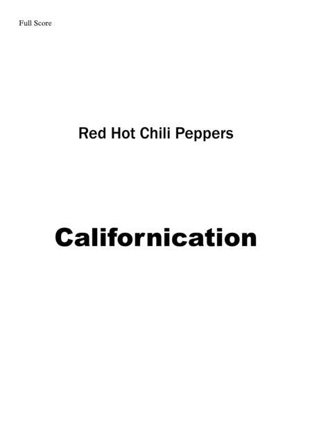 Californication - Brass Quintet