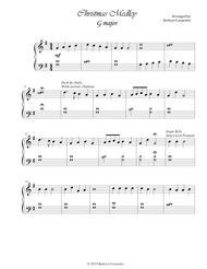 Christmas Medley (Easy Piano ) G major