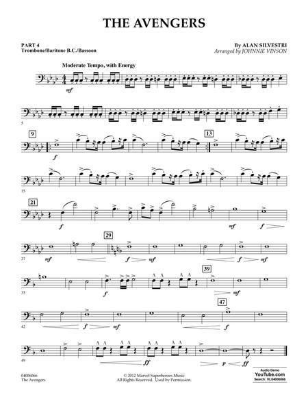 The Avengers (arr. Johnnie Vinson) - Pt.4 - Trombone/Bar. B.C./Bsn.