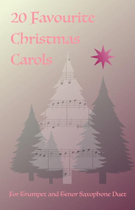 20 Favourite Christmas Carols for Trumpet and Tenor Saxophone Duet