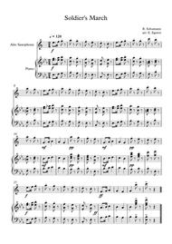 Soldier's March, Robert Schumann, For Alto Saxophone & Piano