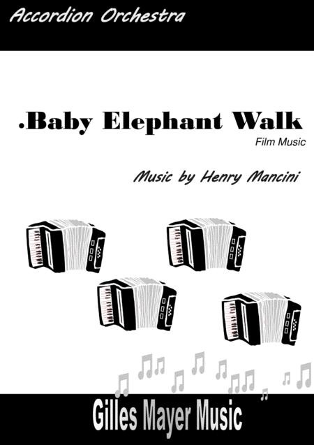 BABY ELEPHANT WALK (Accordion orchestra)