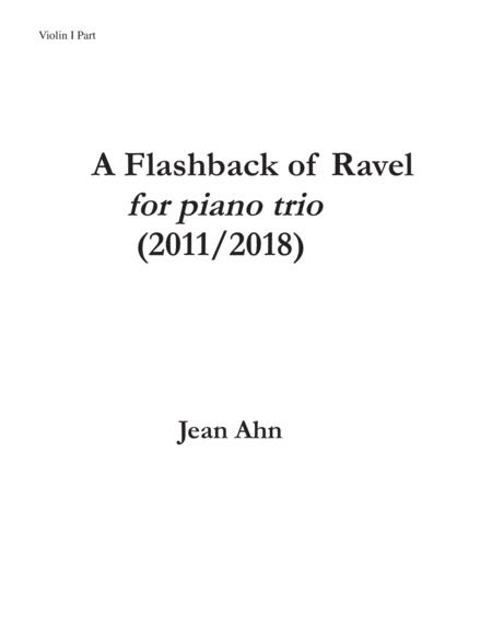Flashback of Ravel-PARTS (violin and cello)