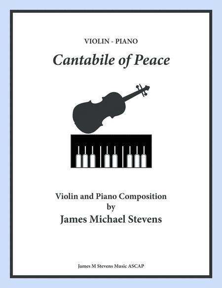 Cantabile of Peace - Violin & Piano