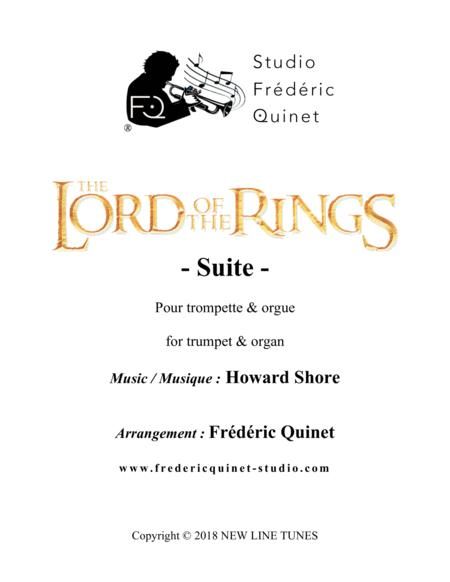 The Lord Of The Rings Suite for Trumpet & Organ