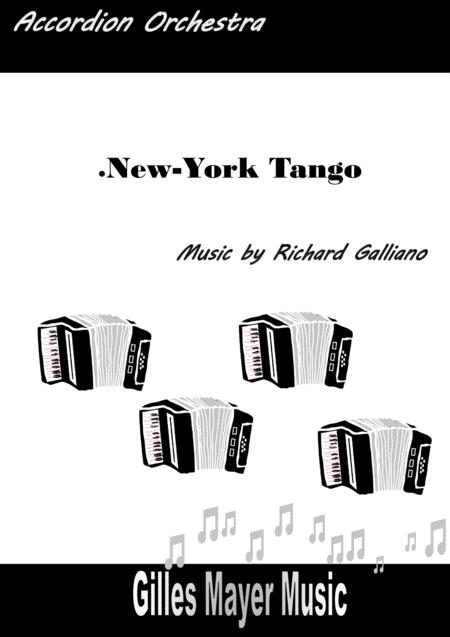 NEW YORK TANGO - Accordion orchestra