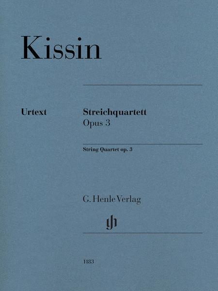 String Quartet Op. 3