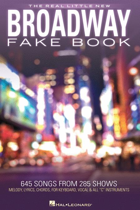 The Real Little New Broadway Fake Book