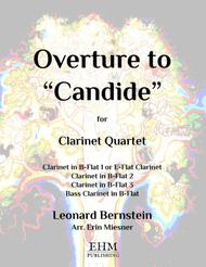 Overture To Candide for Clarinet Quartet