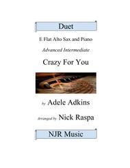 Crazy For You (Alto Sax & Piano) adv intermediate jazz