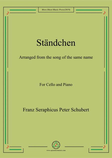 Schubert-Ständchen,for Cello and Piano