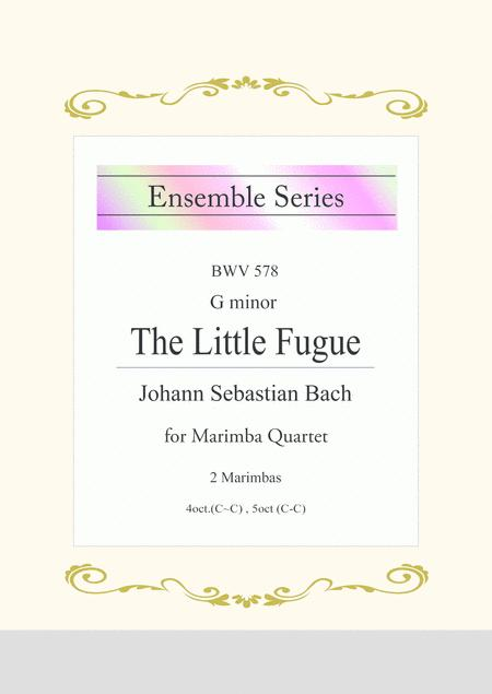 J.S.Bach / The Little Fugue in G minor BWV578