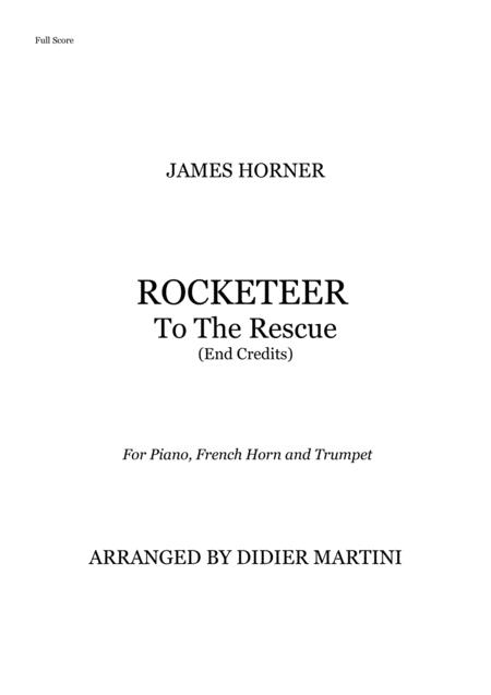 Rocketeer To The Rescue (End Credits) // For Piano, Horn and Trumpet