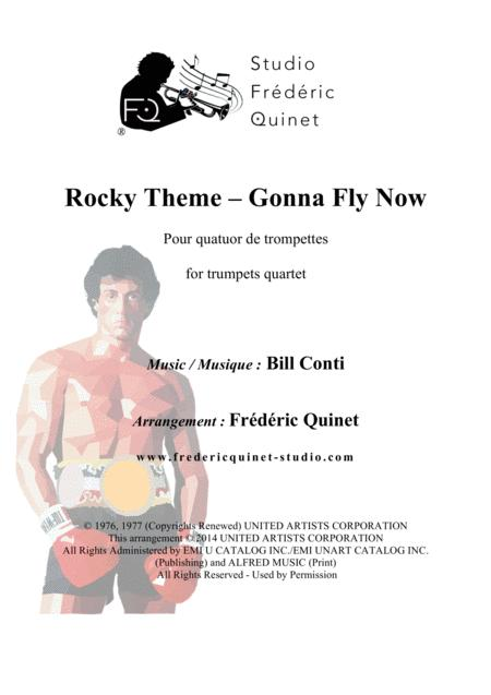 Gonna Fly Now - Rocky Theme for 4 trumpets