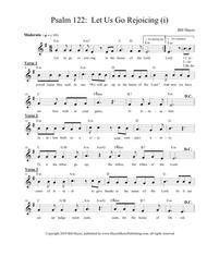 Psalm 122:  Let Us Go Rejoicing (i)