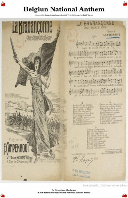 Belgiun National Anthem (La Brabançonne) for Symphony Orchestra (KT Olympic Anthem Series)