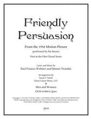 Friendly Persuasion (2 Voice Men/Women)