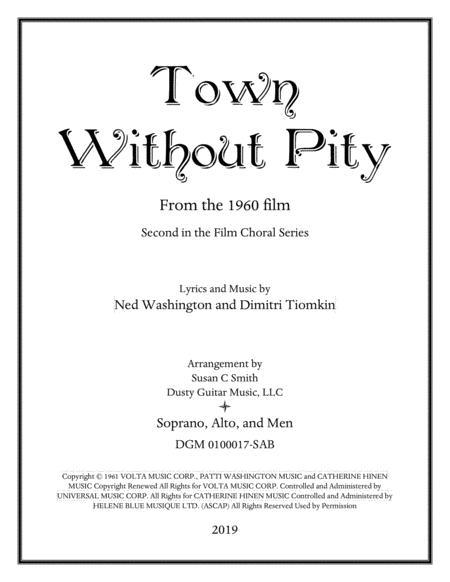 Town Without Pity (Soprano/Alto/Men)