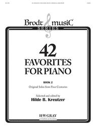 42 Favorites for Piano