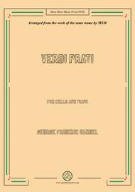 Handel-Verdi prati,for Cello and Piano