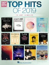 Top Hits of 2019 for Easy Guitar