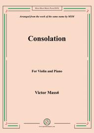 Masse-Consolation, for Violin and Piano