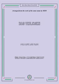 Mozart-Das Veilchen, for Flute and Piano