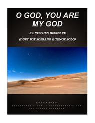 O God, You Are My God (Duet for Soprano and Tenor Solo)
